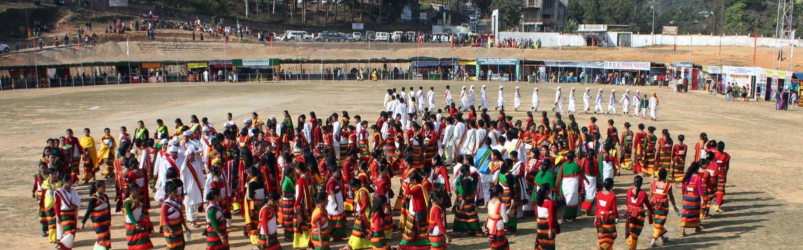 Culture.Dance - Bashu.Festival.Dima Hasao